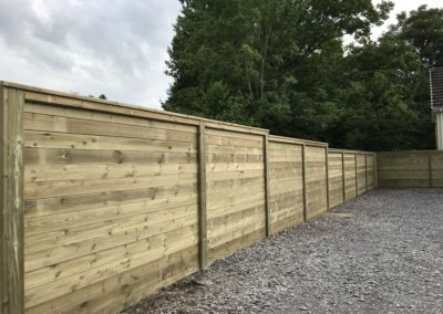 Refelctive acoustic fencing