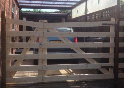 Ranch style gates