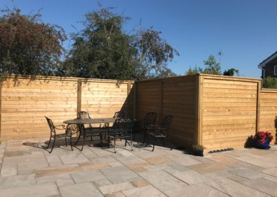 Reflective acoustic fencing